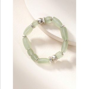 Stella & Dot Brix bracelet - Mint OS
